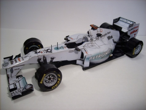 Mercedes GP W02 Michael Schumacher