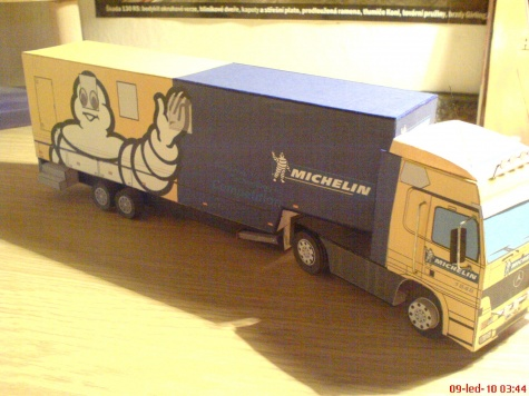 Mercedes-Michelin motorhome