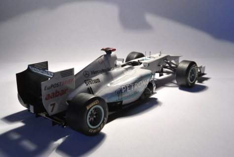 MERCEDES GP W02 (GP Australia 2011, M.Schumacher)