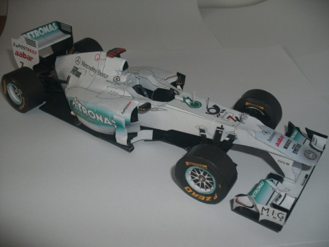 Mercedes GP W02 - M. Schumacher