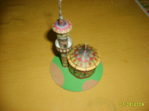 Mešita s minaretem - dočasně skončeno