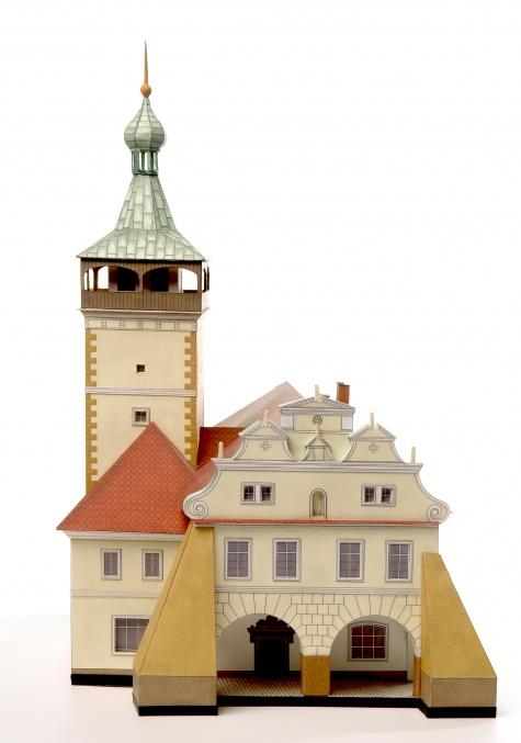 Městská radnice Dobrovice.