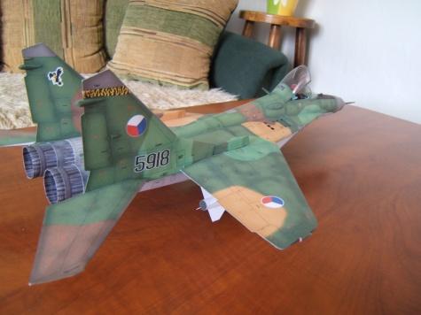 MIG-29 CZ camo