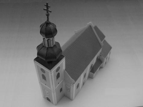 Milotický kostel všech svatých.