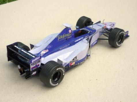 Minardi M01 - Marc Gene - GP Austrálie 1999