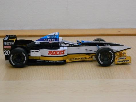 MINARDI M197 U.Katayama/Spanish GP 1997