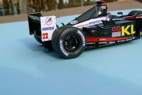 MINARDI PS 02, Alex Yoong 2002