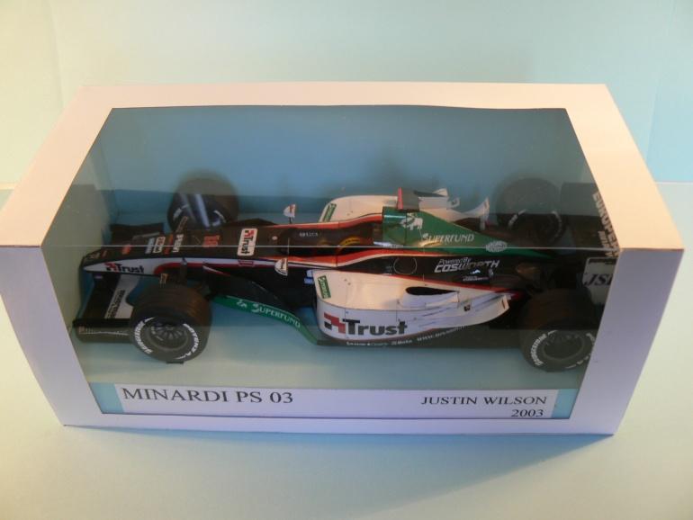 MINARDI PS 03 Justin Wilson 2003