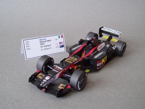 Minardi PS02 (2002; Yoong)