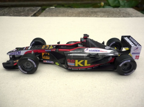 Minardi PS02 - Alex Yoong - 2002