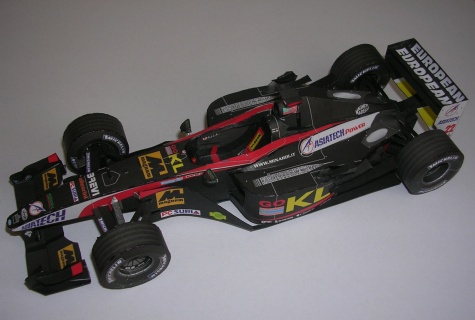 Minardi PS02, 2002 Alex Yoong