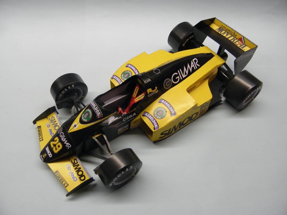 Minardi M185, 1985, P.Martini