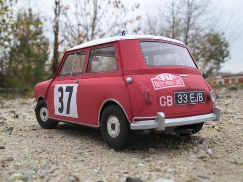 MINI Cooper - Rallye Monte Carlo 1964