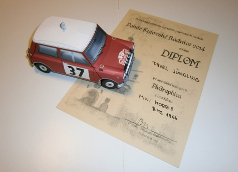 Mini Cooper Rallye Monte Carlo 1964