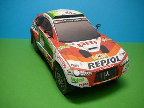 Mitsubishi Racing Lancer MRX09 Dakar 2009