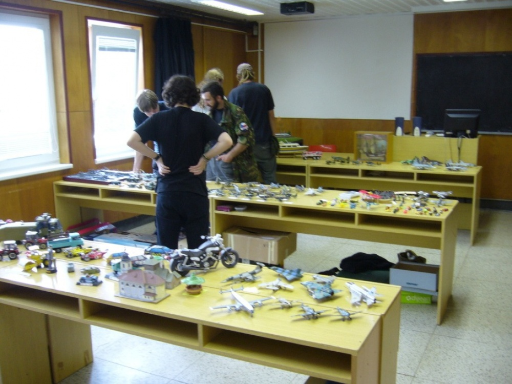 Modelářská výstava Uherský Brod, VII. ročník - 10.6.2012