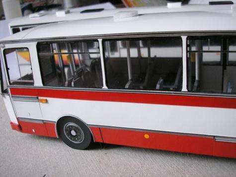 Modely autobusů Karosa