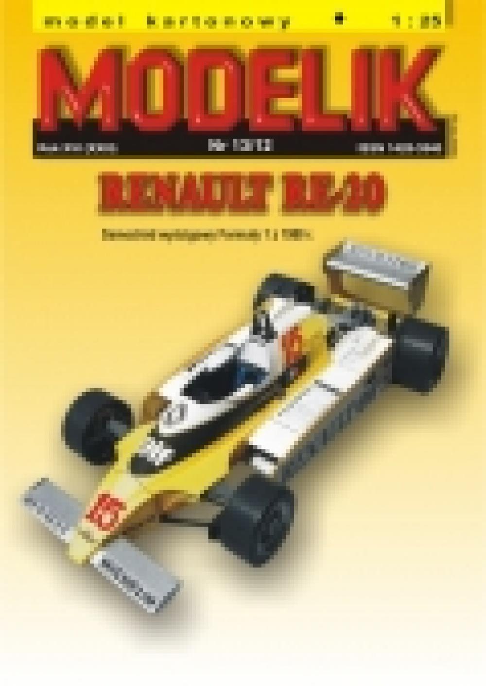 1/25 Modely F1 - Modelik