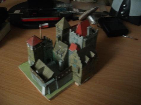 románsky hrad