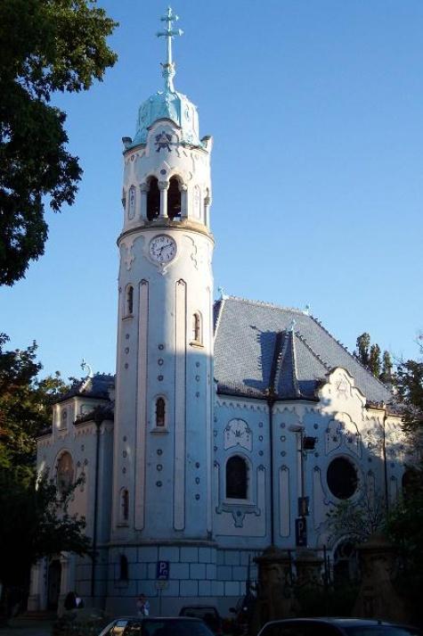 Modrý kostelík v Bratislavě