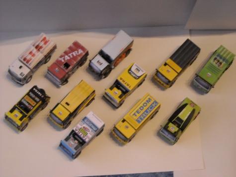 Moje sbírka Rallye Dakar