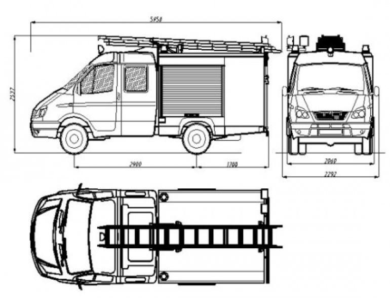 motor a přívěsný vozík i auto