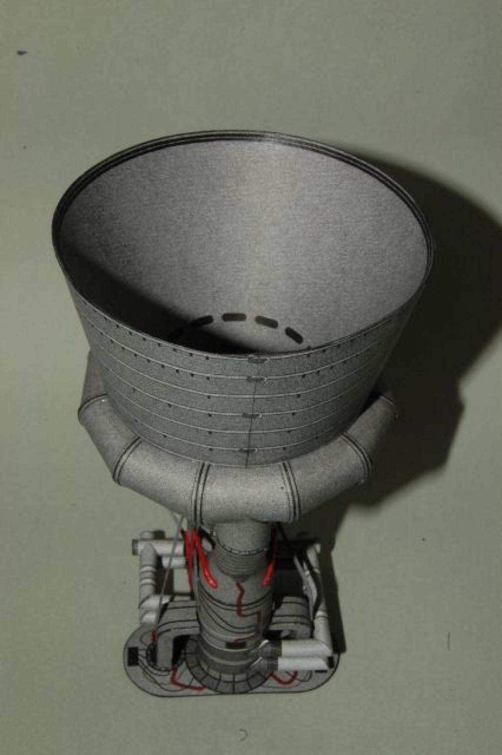 Motor prvního stupně rakety Saturn V - Rocketdyne F-1