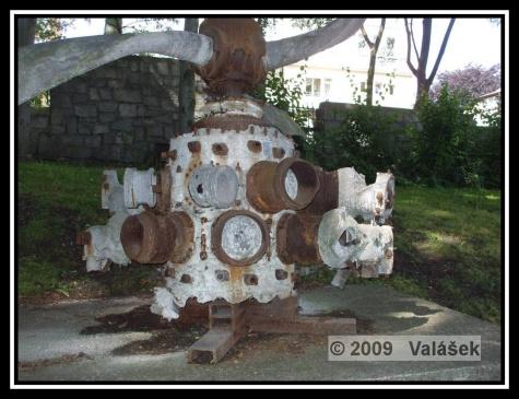Motor z Liberatoru po 50-ti letech v moři