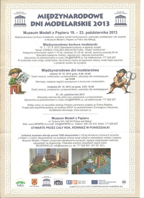 MPMPM - Mezinárodní modelářské dny 2013