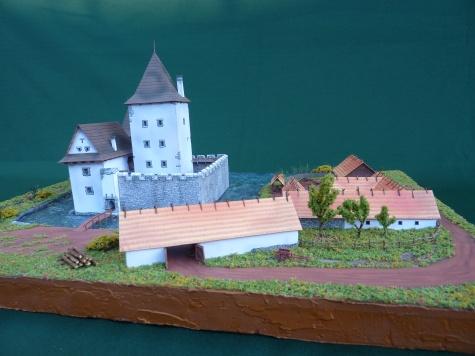 Mstěnice - hospodářský dvorec
