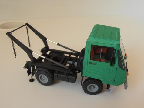 Multicar M25 - ramenový nosič kontejnerů