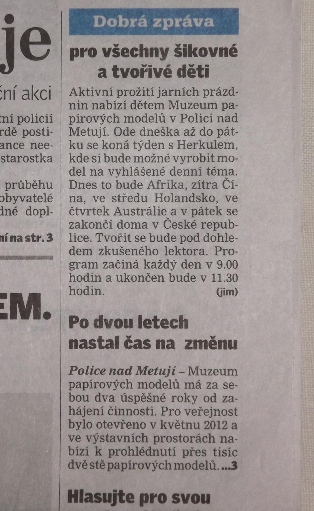 Náchodský deník 2014_03_10 - články