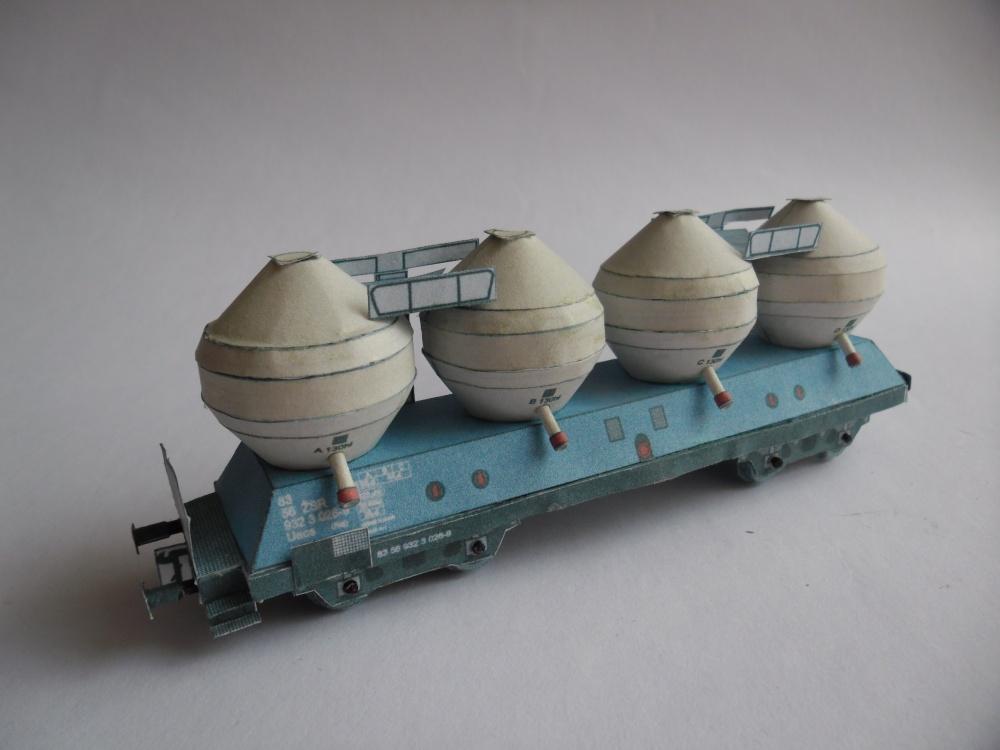 Nákladní vagon řady Uacs (Raj)
