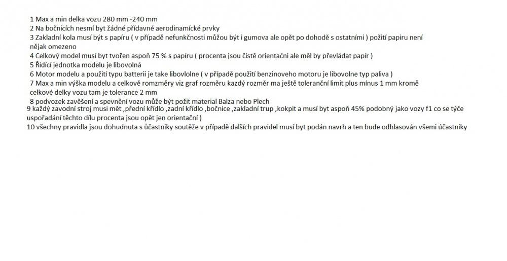 pravidla pro RC papiraky :-D