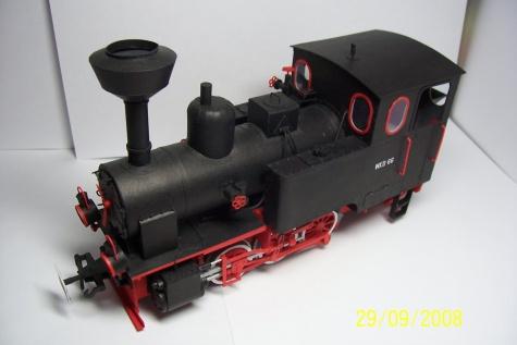 Německá parní lokomotiva Orenstein & Koppel Cn2t
