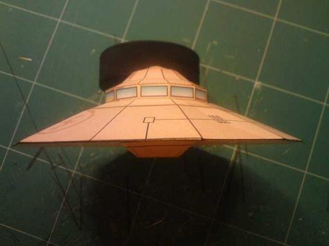 Nemecký lietajúci tanier HAUNEBU I