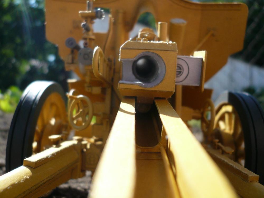 Německý polní kanón leFH 1840 ráže 105 mm