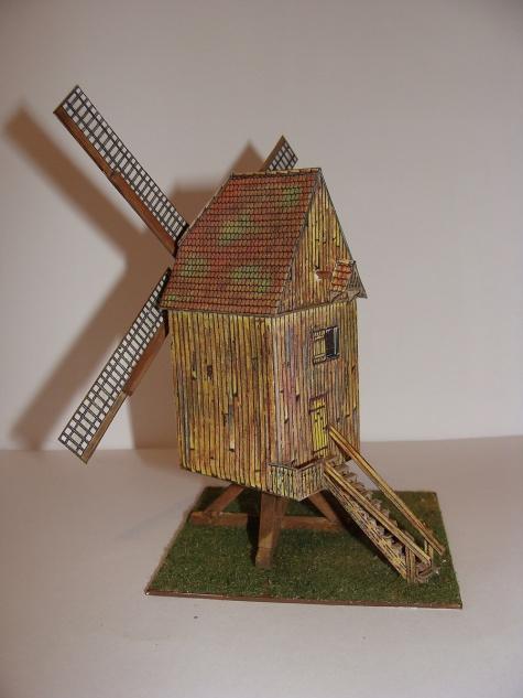 Německý větrný mlýn