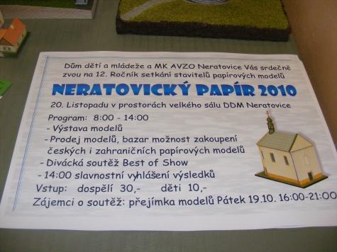 Neratovický PAPÍR DDM 19-20.11.2010