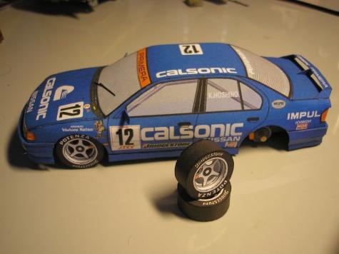 Nissan Primera Calsonic