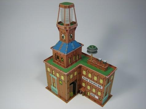 Ocelové město / Rohová věž