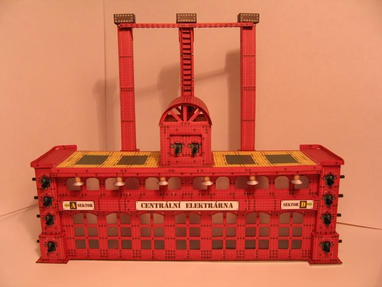 Ocelové město- elektrárna