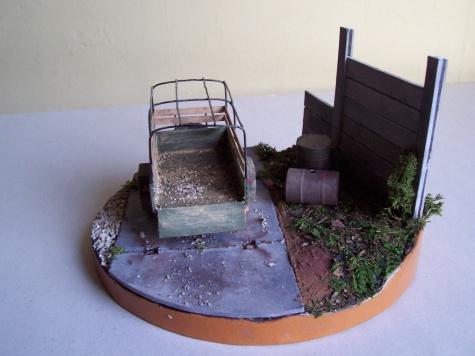 Odstavený vozík