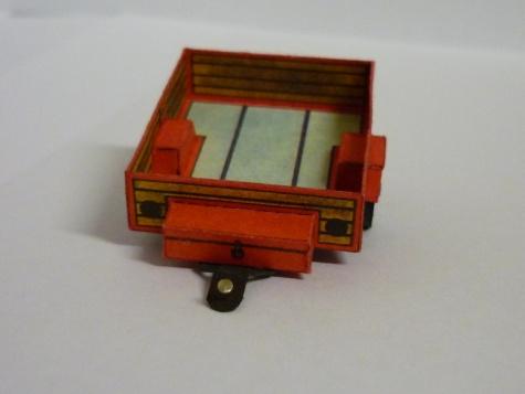Oltcit R11 s přívěsným vozíkem