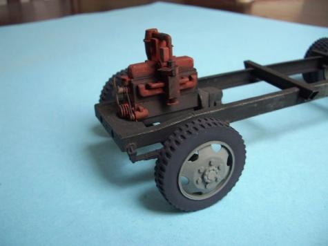 Opel Blitz Holzgasantrieb
