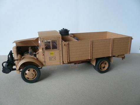 Opel Blitz Holzgas
