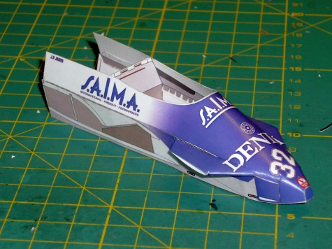 Osella FA1C - J.P.Jarier - GP Italie 81
