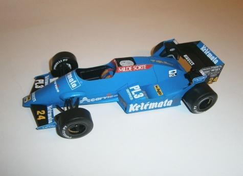 Osella FA1F Alfa Romeo - Piercarlo Ghinzani, GP Brazil 1984