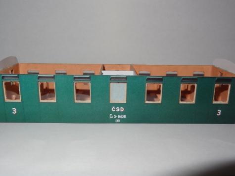 Osobní vůz Ci 3 - 9425 Dřevák