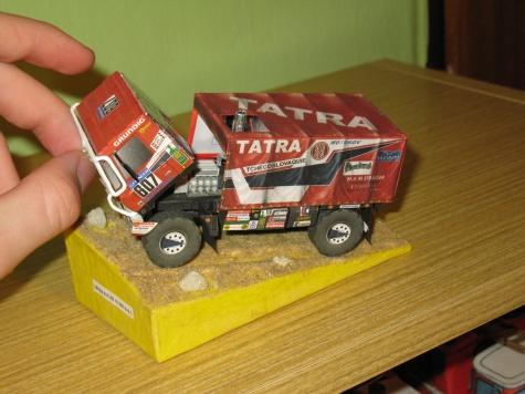 Tatra 815 4x4 dakar 88+ kniha/LUCAS